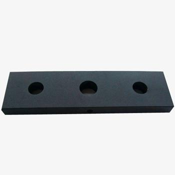 CNC Machined Steel Material Heavy Counter Weight Block